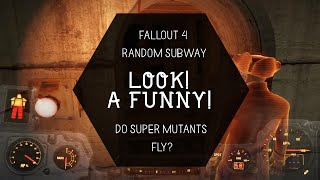 Fallout 4 Funny Moment in the Subway