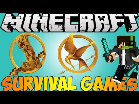Minecraft: Bukkit Plugin - Survival Games - Super fun pvp Minigame![HD]