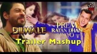 Epic Diwali PRDP Dilwale Trailer Mashup Salman Khan & Shahrukh Khan