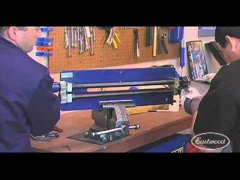 Bead Roller Homemade Bead Roller And Flanger Kit