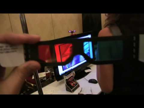 CES 2009: World s First 3-D Webcam