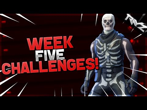 battle pass week 5 challenges
