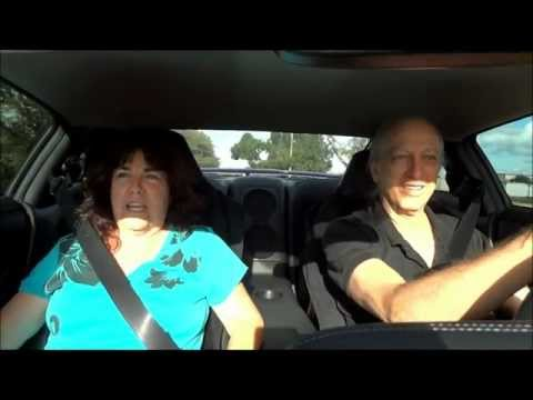 Wife's reaction to Launching a 2013 Nissan GTR.wmv