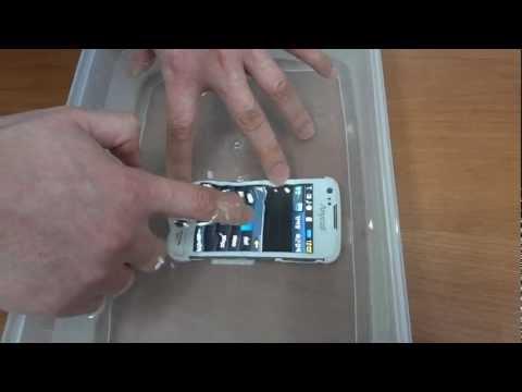 Samsung(Smart Phone Model:SPH-W8550 )Waterproof Mobile Phone..iPhone3 OK.avi
