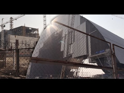 Chernobyl New Safe Confinement (NSC) 2015 - Арка shelter of Reactor 4