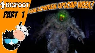 SCARED OUT OF OUR MINDS! - Finding Bigfoot (Funny Halloween Gaming Moments)