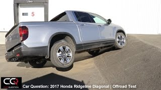 I-VTM4/AWD Test: 2017 Honda Ridgeline | Diagonal and Offroad test!  | complete review: Part 6/8