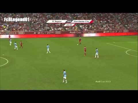 Bastian Schweinsteiger vs. Manchester City / Audi-Cup Final 2013 / HD
