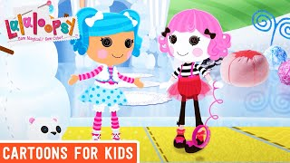 Lalaloopsy - Charlotte's Invisible Pet | Lalaloopsy Webisode Compilation | Cartoons for Kids