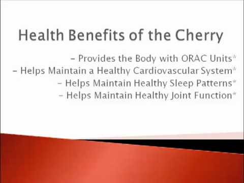 Cherry Juice Health Benefits Webinar