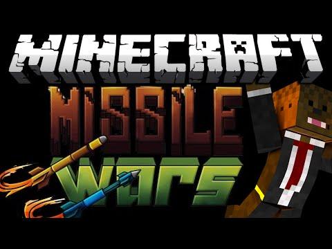 BRAND NEW Minecraft MISSILE WARS Minigame w/ Merome, Nooch, and LogDotZip