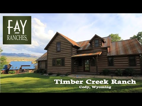 TCR Cody Wyoming Ranch Home For Sale