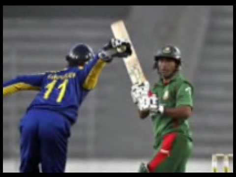 Srilanka Vs Bangladesh 1st ODI At Dhaka Highlights Tri Series SL won By 7 wickets