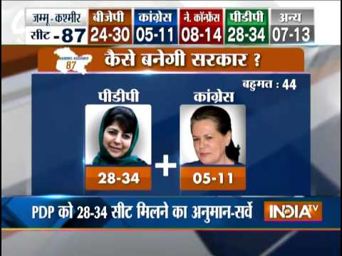 Jammu and Kashmir polls: PDP Vs BJP