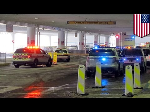 Ohio airport shooting: knife-wielding man was shot and killed by airport police