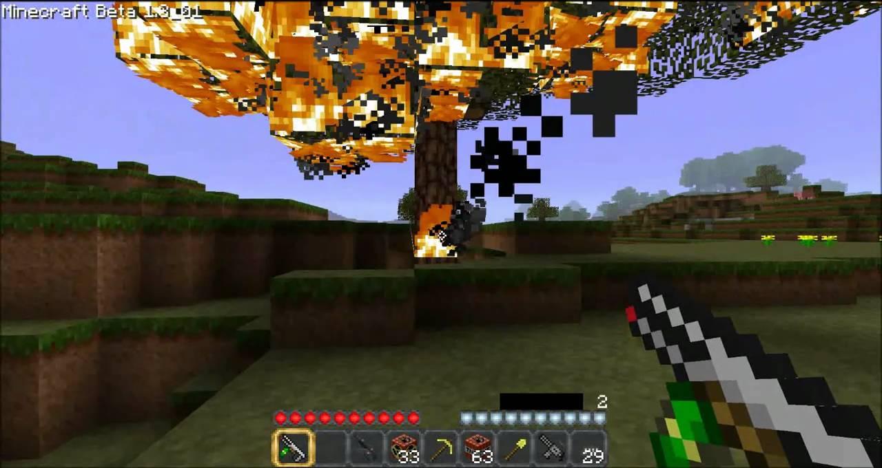 Minecraft Nuke Explosion! (Crater - 93.5KB