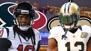 Texans vs Saints Week 1 Predictions!