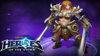 Heroes of the Storm : Road to Rank 1 #3 (Sonya)