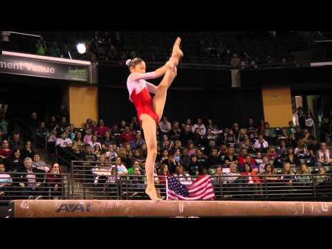 Yuki Uchiyama - Jr Balance Beam Finals - 2012 Kellogg&#039;s Pacific Rim Championships - 4th
