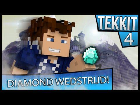 DIAMOND WEDSTRIJD! - Minecraft Tekkit S2 #4
