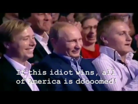 Hillarious Hillary Clinton Speaking Russian to President Putin