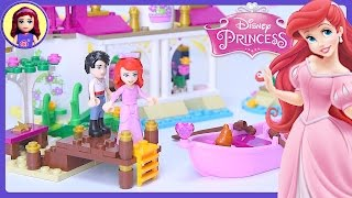 LEGO Disney Princess Ariel's Magical Kiss Little Mermaid Build Review Silly Play - Kids Toys