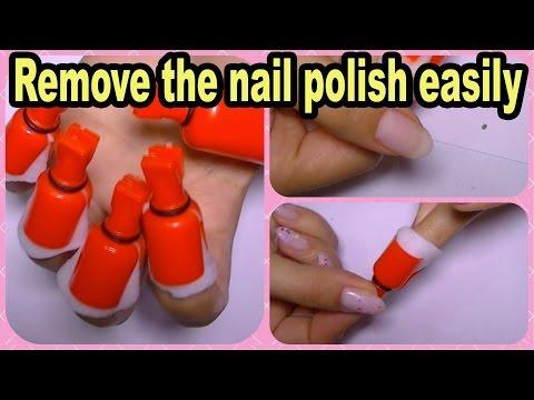 How I Remove My Nail Polish,Glitter,Nail Art,Gel Off Remover Clips,banggood com