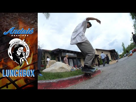 Overcast Skate Shop X Andalé Bearings Lunch Box Tour