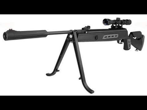 Review  Hatsan 125 Sniper .22 Cal -  PCP Power From A Spring Gun