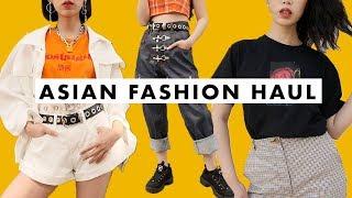 Korean Japan Hong Kong Fashion Try On Haul ?