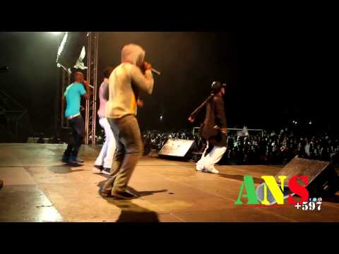 King Koyeba (badderman, Mury, Young Money) Live At Sosis Carifesta Xi [ans597] video