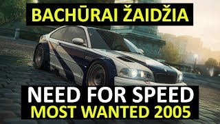 Bachūrai Žaidžia: Need for Speed Most Wanted