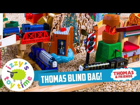 THOMAS TRAIN GRAB BAG WITH  MORGAN'S MINE! Thomas and Friends with Brio | Fun Toy Trains for Kids
