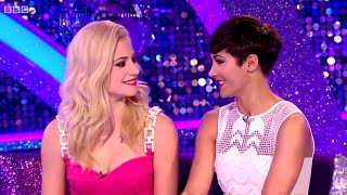 Frankie Bridge & Pixie Lott - It Takes Two - Strictly Come Dancing - 4th December 2014