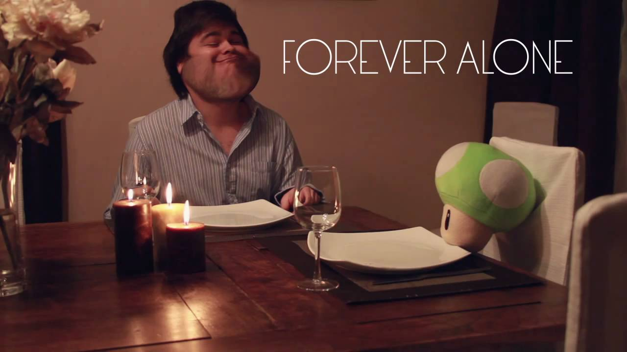 Forever Alone (in real life) - YouTube