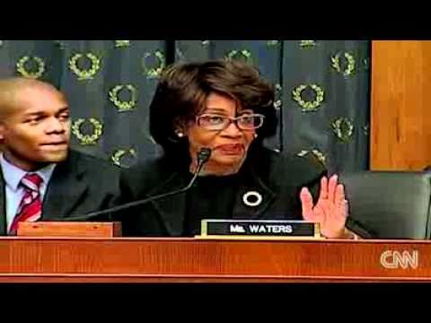 Maxine Waters (D-umbass) questions Rupert Murdoch on immigration reform