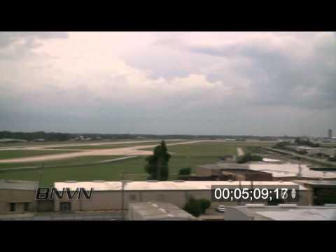 Hurricane Gustav Video, 2008 Part 5. New Orleans, LA airport