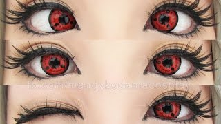 REVIEW: Circle Lenses - Twilight Sharingan Lens CPS1 (Sponsored by Uniqso)