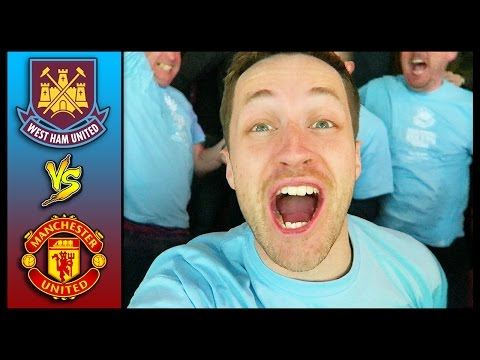 THE FINAL EVER GAME AT UPTON PARK! WEST HAM VS MAN UNITED -