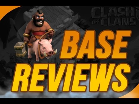 Clash of Clans :: TH 8 BASE REVIEWS - Some Great Bases