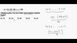 Pratik Matematik Asal Çarpanlar Soru Çözümü