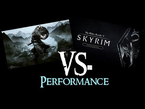 SKYRIM vs. SKYRIM Special Edition : Performance/FPS   1080p@Ultra