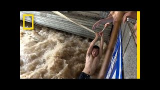 China's Extreme Flooding: See Dramatic Scenes of Rescue and Ruin | National Geographic