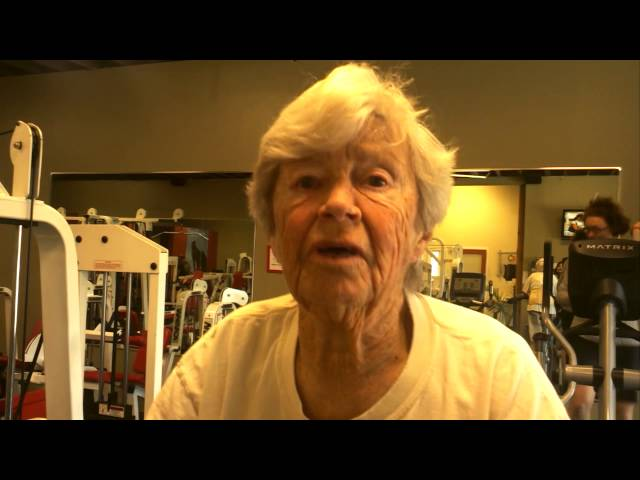 89-year-old Grandmother Shares her Special Fitness Story