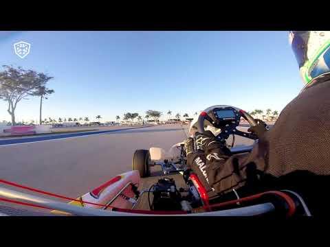 "Miami Homestead-Motorplex Onboard - Zane Maloney ""RaceBox Show"" 170119"