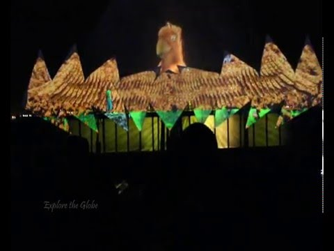 Wings of Time show , Sentosa , Singapore
