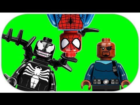 LEGO 76004 Spider-Man Spider-Cycle Chase LEGO Marvel Super Heroes Review