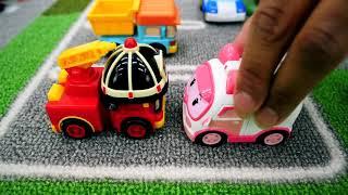 Robocar Poli. Vidéos De Voiture De Jouet Pour Les Enfants.