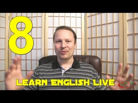 Learn English with Steve Ford  Learn English Live 8  Get Phrasal Verbs  Idioms