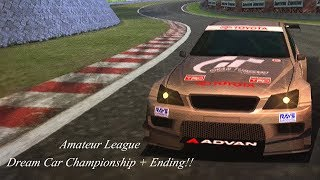 Gran Turismo 3 - Amateur League - Dream Car Championship + Ending!!